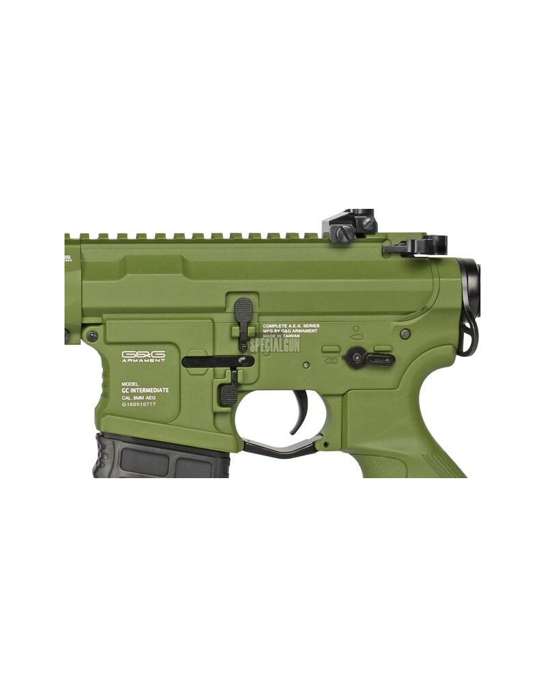 GC16 PREDATOR FULL METAL ETU G&G HUNTER GREEN - FUCILI ELETTRICI -  - GG-PREDATOR-GREEN