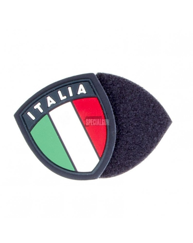 PATCH TOPPA IN GOMMA PVC SCUDETTO ITALIA BLU - PATCH -  - 1809B