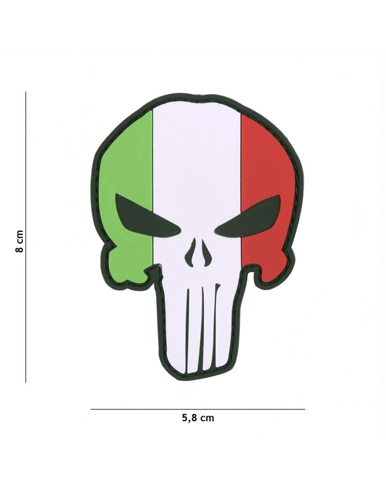 PATCH IN GOMMA 3D PVC TESCHIO PUNISHER ITALIA - PATCH -  - 444130-5300