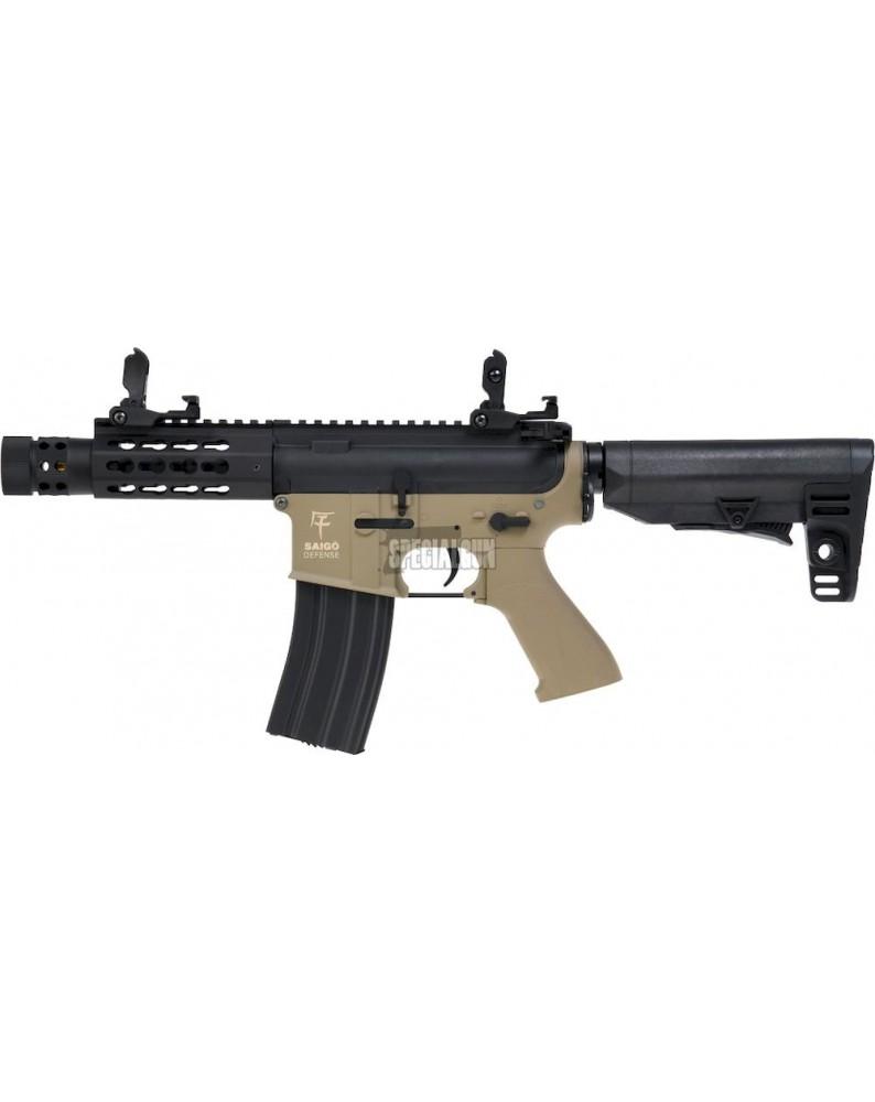 FUCILE M4 KENJI SHORT SAIGO DEFENCE TAN - FUCILI ELETTRICI -  - SGM4002T