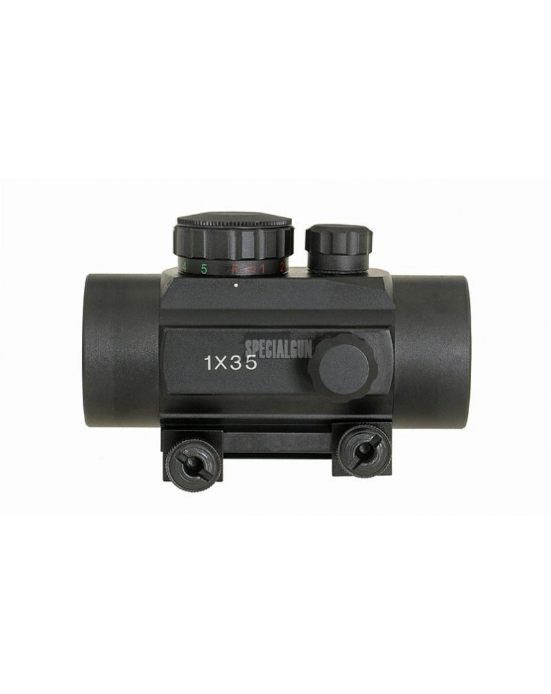 RED DOT 1X35 PROPOINT ROSSO/VERDE METAL - OTTICHE E RED DOT -  - 1X35RD
