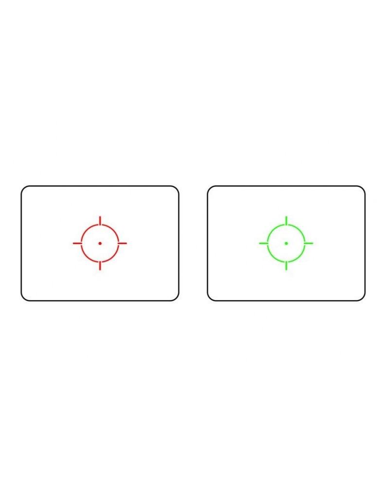 RED DOT XPS REPLICA PUNTO ROSSO/VERDE THETA OPTICS NERO - OTTICHE E RED DOT -  - THO-10-010997