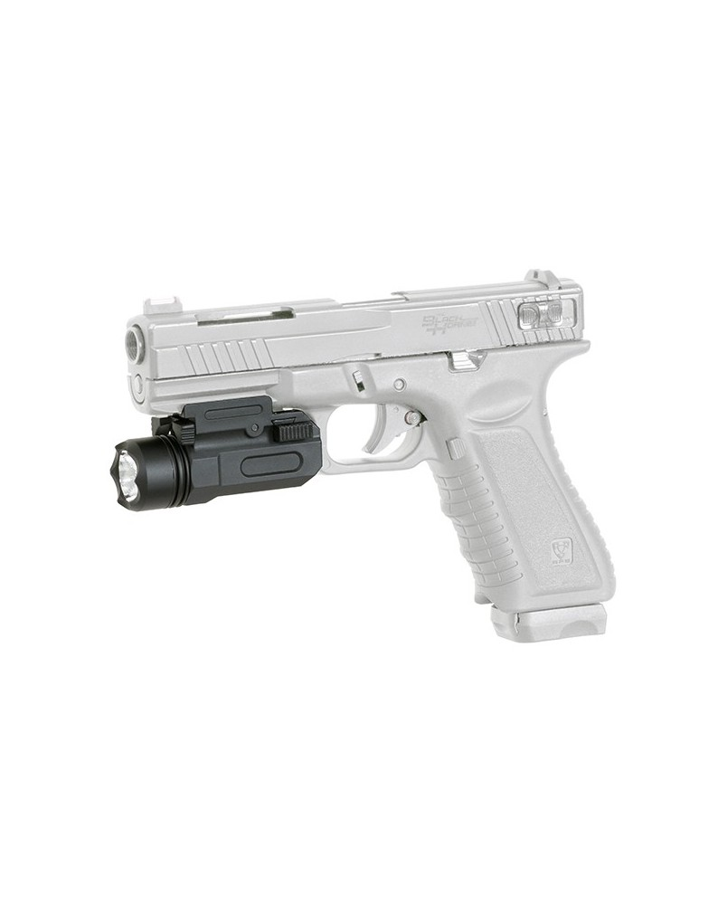 TORCIA PISTOLA TACTICAL GUN LED 120 LUMEN