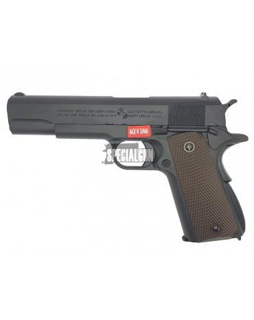 PISTOLA GAS COLT 1911 ANNIVERSARY FULL METAL BLOWBACK CYBERGUN