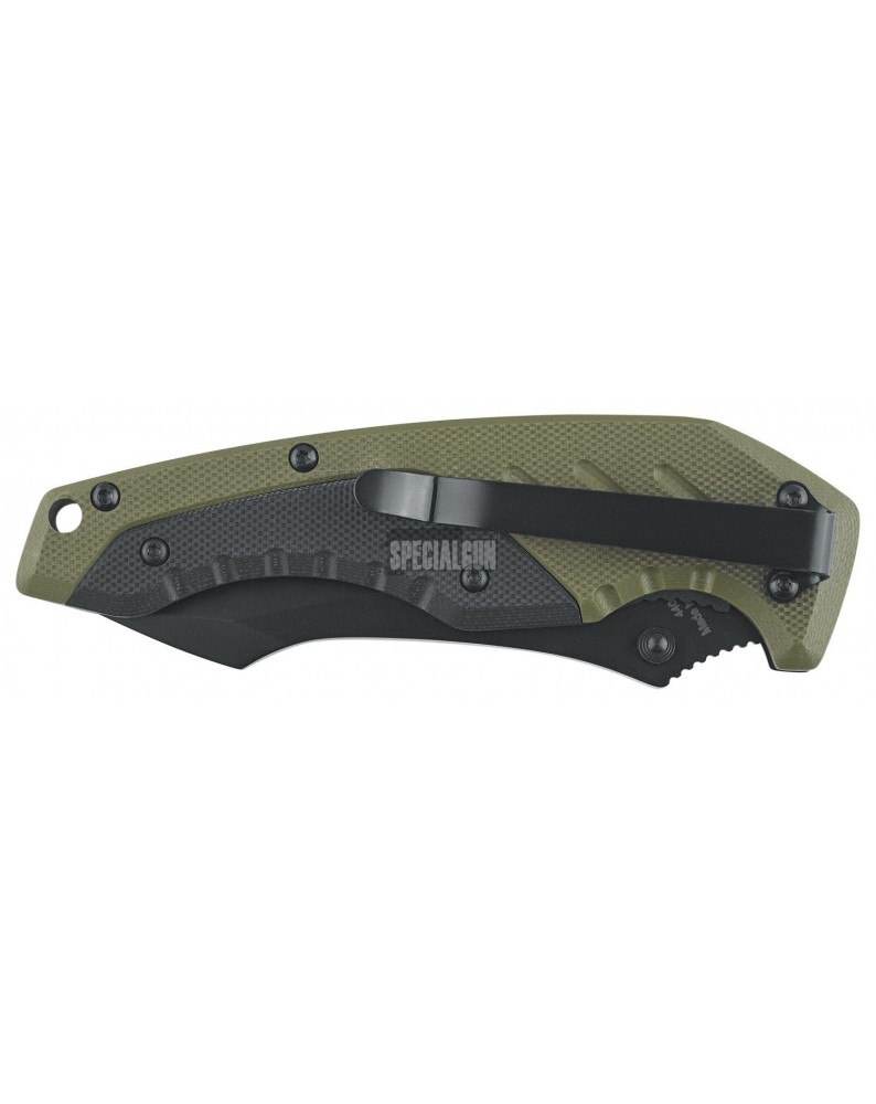 KILO COLTELLO TATTICO RICHIUDIBILE DEFCON 5 VERDE - COLTELLI - MULTITOOL -  - D5-K010