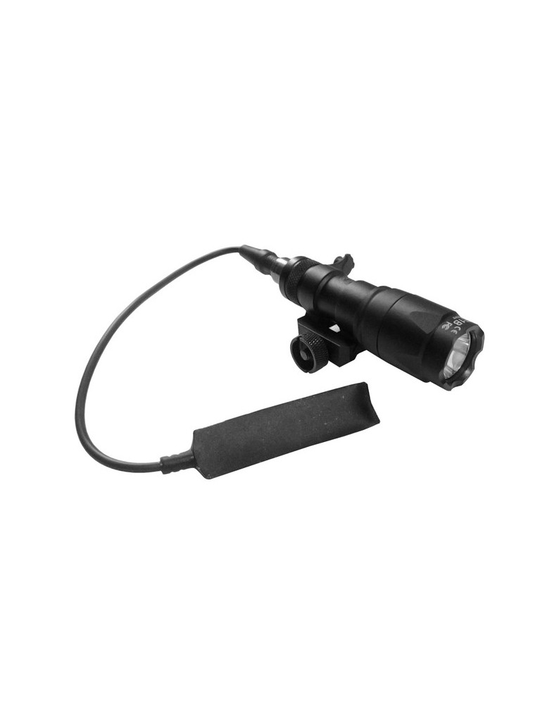 TORCIA M300A MINI SCOUT LED 200 lm. NIGHT EVOLUTION NERO