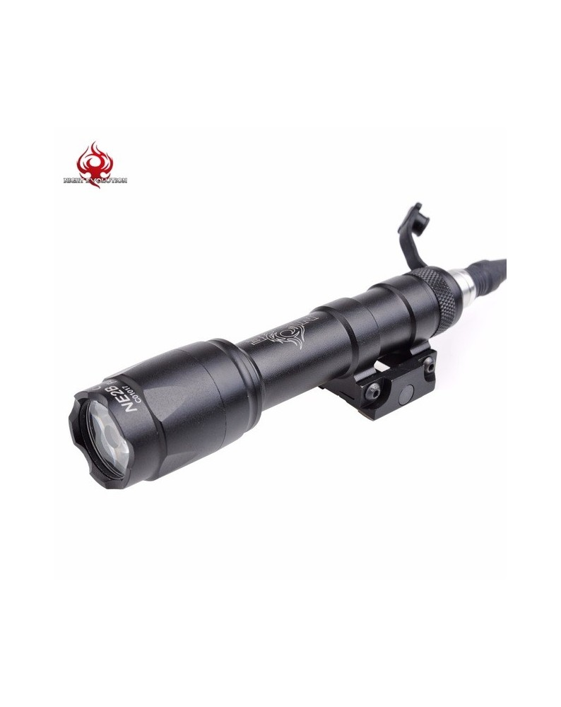 TORCIA M600C SCOUT LED 200 lm. NIGHT EVOLUTION NERO